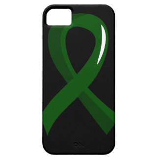 Liver Cancer Emerald Green Ribbon 3 iPhone SE/5/5s Case