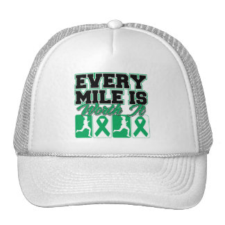 Liver Cancer Every Mile is Worth It Trucker Hat