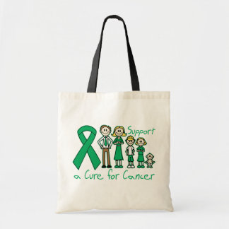 Liver Cancer Family Support A Cure Tote Bags