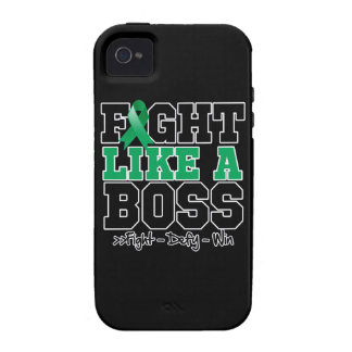 Liver Cancer Fight Like Boss Vibe iPhone 4 Covers
