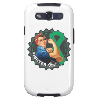 Liver Cancer Fighter Gal Samsung Galaxy S3 Cover