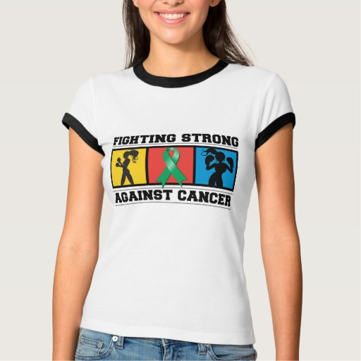 Liver Cancer Fighting Strong Shirts