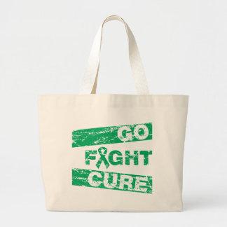 Liver Cancer Go Fight Cure Bag