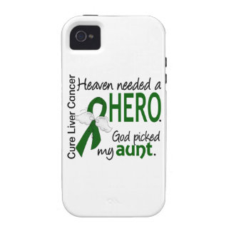 Liver Cancer Heaven Needed a Hero Aunt iPhone 4 Covers