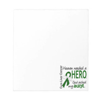 Liver Cancer Heaven Needed a Hero Aunt Notepad