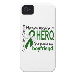 Liver Cancer Heaven Needed a Hero Boyfriend iPhone 4 Case-Mate Cases