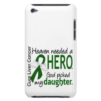 Liver Cancer Heaven Needed a Hero Daughter iPod Case-Mate Case