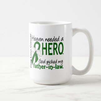 Liver Cancer Heaven Needed a Hero Father-In-Law Classic White Coffee Mug