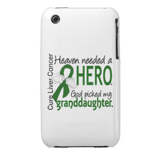Liver Cancer Heaven Needed a Hero Granddaughter iPhone 3 Cases