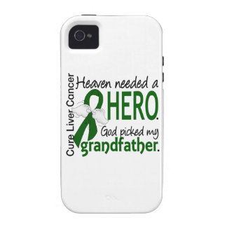 Liver Cancer Heaven Needed a Hero Grandfather Case For The iPhone 4