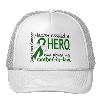 Liver Cancer Heaven Needed a Hero Mother-In-Law Trucker Hat