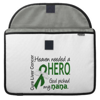 Liver Cancer Heaven Needed a Hero Nana MacBook Pro Sleeves