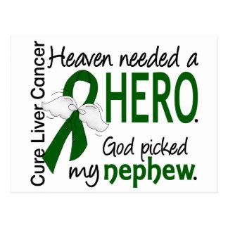 Liver Cancer Heaven Needed a Hero Nephew Postcard