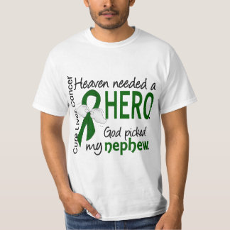 Liver Cancer Heaven Needed a Hero Nephew Shirt