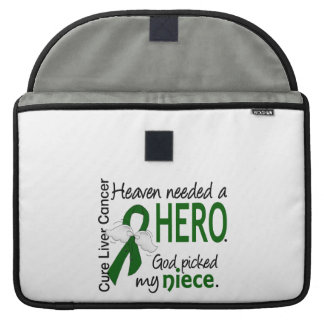 Liver Cancer Heaven Needed a Hero Niece MacBook Pro Sleeves