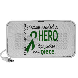 Liver Cancer Heaven Needed a Hero Niece Notebook Speakers