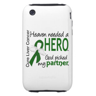 Liver Cancer Heaven Needed a Hero Partner iPhone 3 Tough Covers