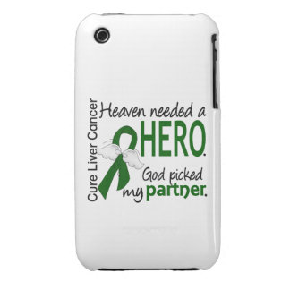 Liver Cancer Heaven Needed a Hero Partner iPhone 3 Case