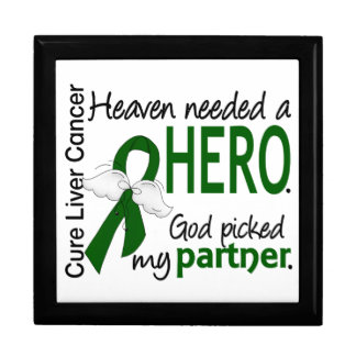 Liver Cancer Heaven Needed a Hero Partner Jewelry Boxes
