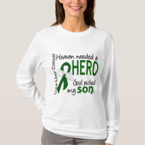 Liver Cancer Heaven Needed a Hero Son T-Shirt