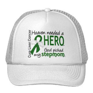 Liver Cancer Heaven Needed a Hero Stepmom Trucker Hat