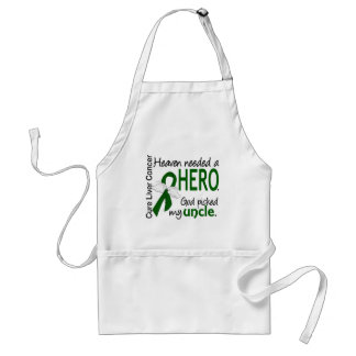 Liver Cancer Heaven Needed a Hero Uncle Adult Apron