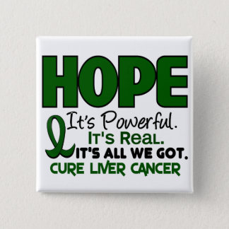 Liver Cancer HOPE 1 Pinback Button
