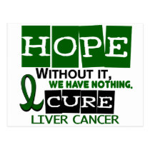 Liver Cancer HOPE 2 Postcard