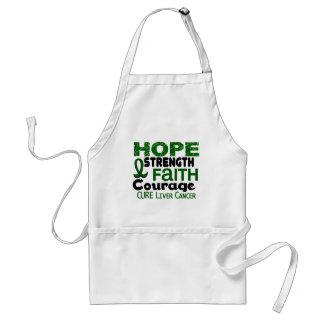 Liver Cancer HOPE 3 Adult Apron