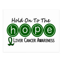 Liver Cancer HOPE 6 Postcard
