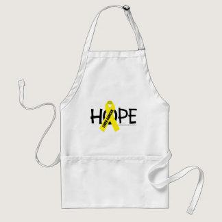 Liver Cancer Hope Adult Apron