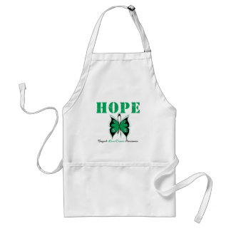 Liver Cancer Hope Butterfly Apron