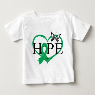 Liver Cancer Hope Butterfly Heart Décor Infant T-shirt