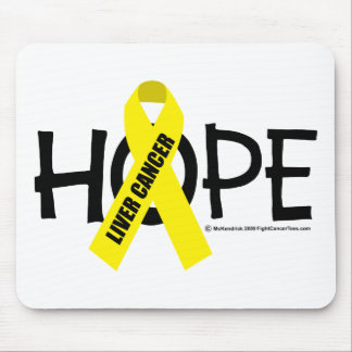 Liver Cancer Hope Mouse Pad