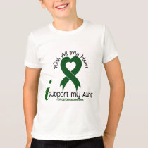 LIVER CANCER I Support My Aunt T-Shirt