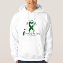 LIVER CANCER I Support My Best Friend Hoodie