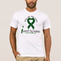 LIVER CANCER I Support My Husband T-Shirt
