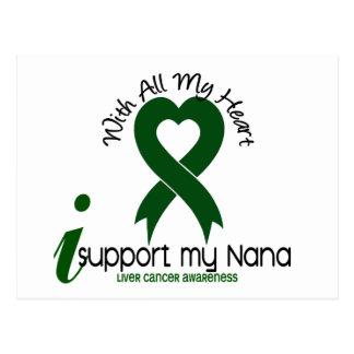 LIVER CANCER I Support My Nana Postcard
