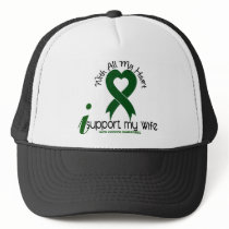 LIVER CANCER I Support My Wife Trucker Hat