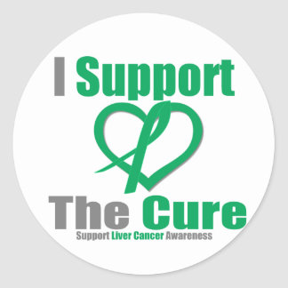 Liver Cancer I Support The Cure Sticker