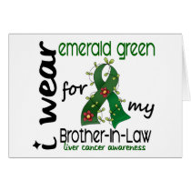 Liver Cancer I Wear Emerald For My Brother-In-Law