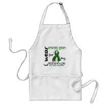 Liver Cancer I Wear Emerald For My Mother-In-Law Adult Apron