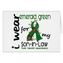 Liver Cancer I Wear Emerald For My Son-In-Law 43