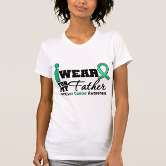 Liver Cancer I Wear Emerald Green For My Father Tees