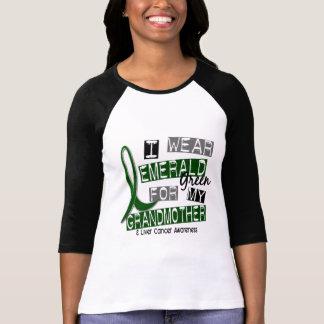 Liver Cancer I Wear Emerald Green For My Grandmoth T Shirt