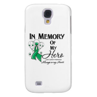 Liver Cancer In Memory of My Hero Samsung Galaxy S4 Cover