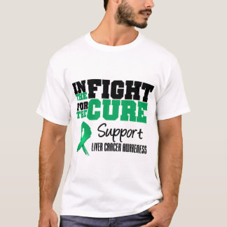 Liver Cancer In The Fight For The Cure T-Shirt