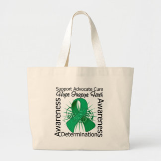 Liver Cancer Inspirations Spiral Ribbon Bag