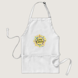 Liver Cancer Lotus Adult Apron