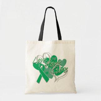 Liver Cancer Love Hope Cure Canvas Bag